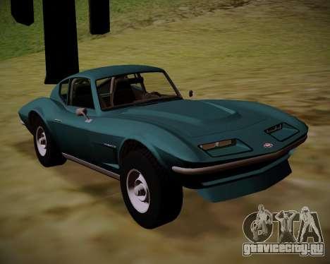 Coquette Classic GTA 5 DLC для GTA San Andreas