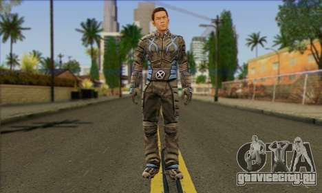 Айсмен (X-Men The Official Game) для GTA San Andreas