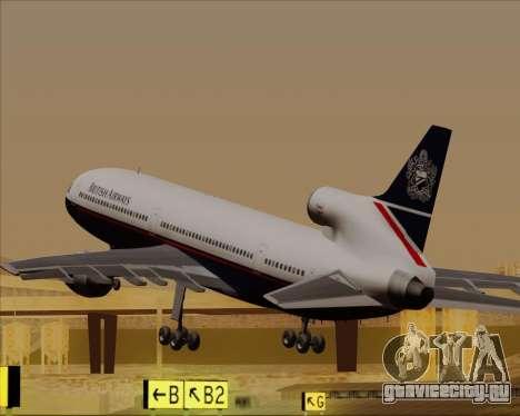 Lockheed L-1011 TriStar British Airways для GTA San Andreas салон