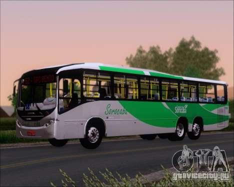 Comil Svelto BRT Scania K310IB 6x2 Sorocaba для GTA San Andreas вид сзади