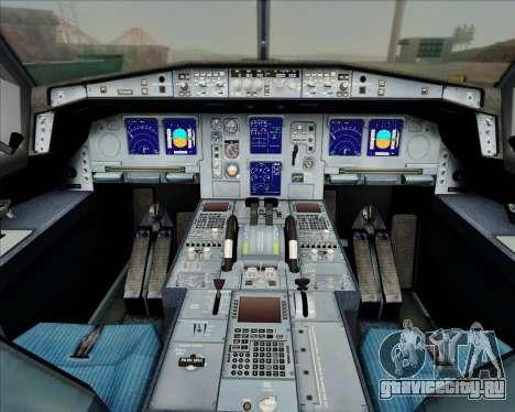 Airbus A330-300 China Eastern Airlines для GTA San Andreas салон