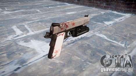 Пистолет Kimber 1911 Cherry blossom для GTA 4 второй скриншот