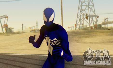 Skin The Amazing Spider Man 2 - Suit Symbiot для GTA San Andreas пятый скриншот