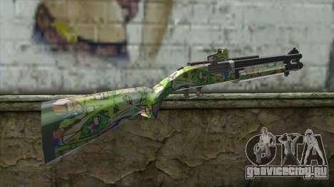 Graffiti Shotgun для GTA San Andreas второй скриншот