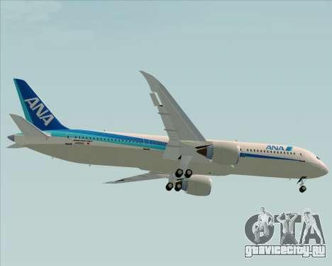 Boeing 787-9 All Nippon Airways для GTA San Andreas вид сбоку
