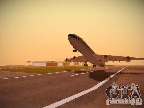 Airbus A340-300 Cathay Pacific для GTA San Andreas