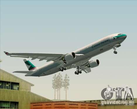 Airbus A330-300 Cathay Pacific для GTA San Andreas
