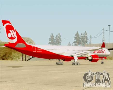 Airbus A330-300 Air Berlin для GTA San Andreas вид сбоку