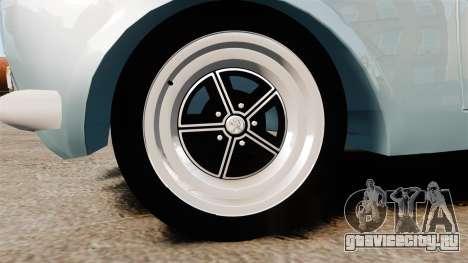 Peugeot 504 для GTA 4 вид сзади