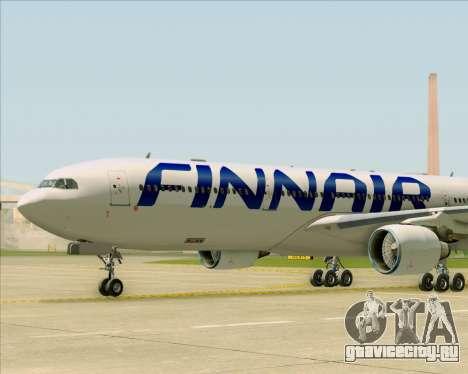 Airbus A330-300 Finnair (Current Livery) для GTA San Andreas вид снизу