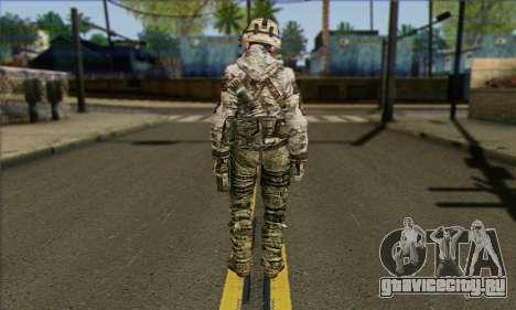 Task Force 141 (CoD: MW 2) Skin 2 для GTA San Andreas второй скриншот