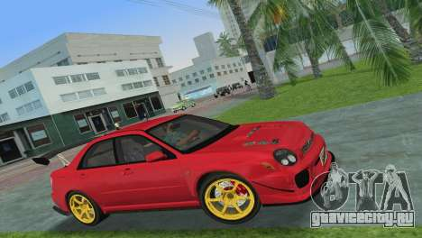 Subaru Impreza WRX 2002 Type 4 для GTA Vice City