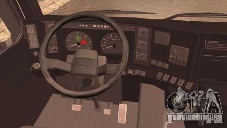 МАЗ 6430 для GTA San Andreas вид сзади слева