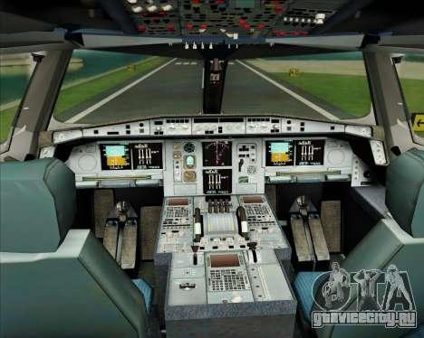 Airbus A380-861 Air France для GTA San Andreas салон