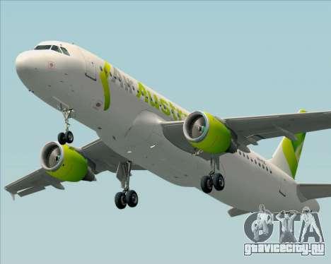 Airbus A320-200 Air Australia для GTA San Andreas вид сбоку
