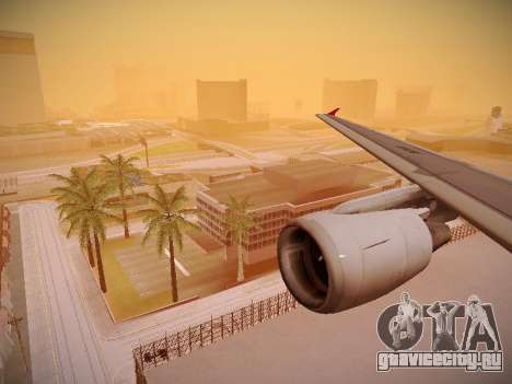 Airbus A320-214 TAM Airlines для GTA San Andreas колёса