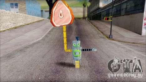 Hamsmp from Sponge Bob для GTA San Andreas третий скриншот