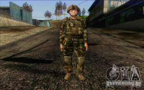 Британский солдат (ArmA II: BAF) v1 для GTA San Andreas