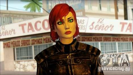 Mass Effect Anna Skin v5 для GTA San Andreas третий скриншот