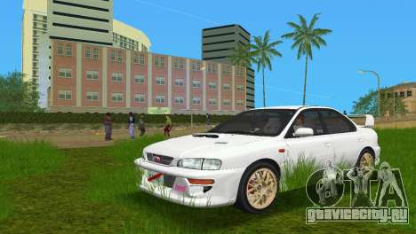 Subaru Impreza WRX STI GC8 Sedan Type 3 для GTA Vice City
