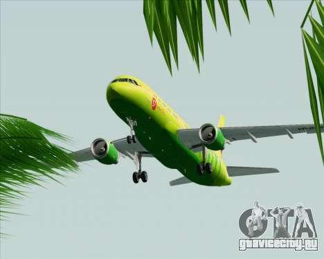 Airbus A320-214 S7-Siberia Airlines для GTA San Andreas вид сбоку