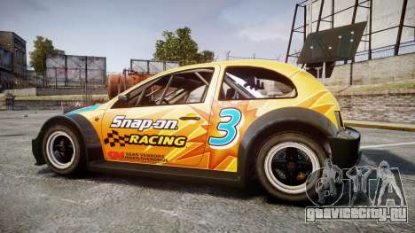 Zenden Cup Snap-On для GTA 4 вид слева