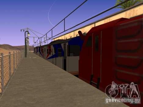 Индонезийский дизель-поезд MCW 302 для GTA San Andreas вид слева