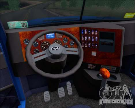 Mack Pinnacle 2006 для GTA San Andreas вид сверху