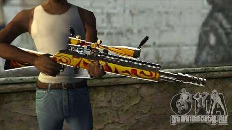 Nitro Sniper Rifle для GTA San Andreas третий скриншот