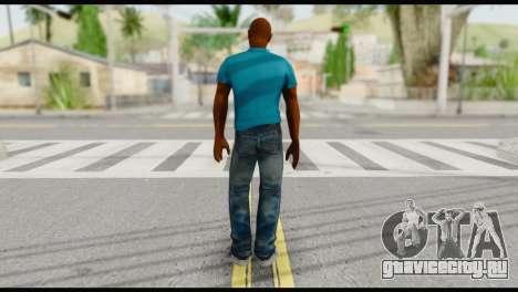 Blue Shirt Vic для GTA San Andreas второй скриншот