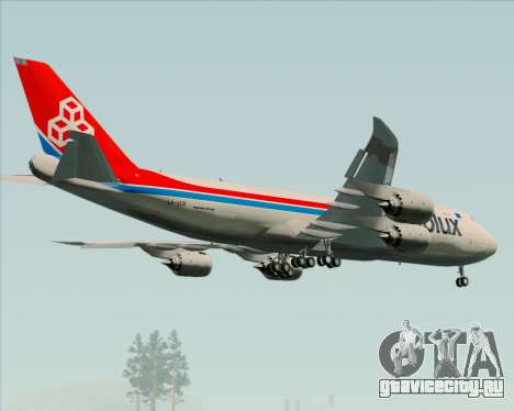 Boeing 747-8 Cargo Cargolux для GTA San Andreas двигатель