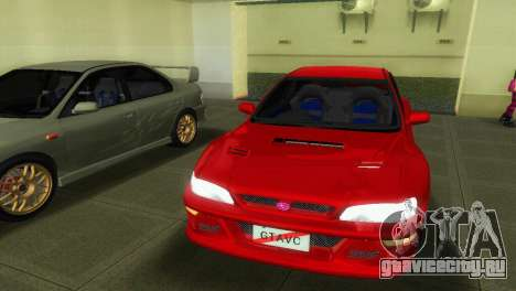Subaru Impreza WRX STI GC8 22B для GTA Vice City вид справа