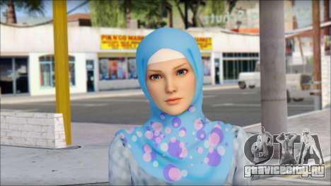 Gaza Tina Armstrong для GTA San Andreas третий скриншот