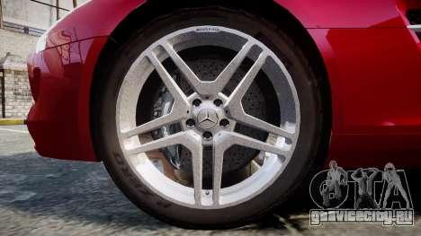 Mercedes-Benz SLS AMG [EPM] для GTA 4 вид сзади