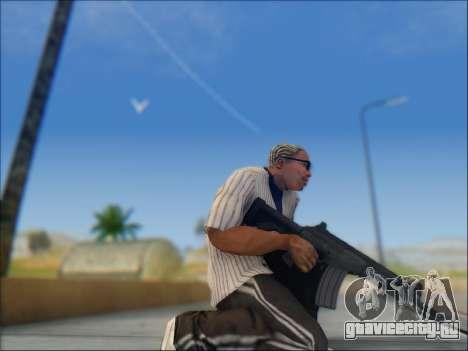 Израильский карабин ACE 21 для GTA San Andreas восьмой скриншот