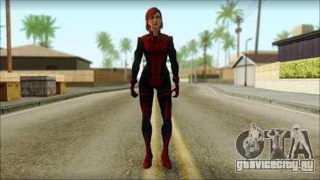 Mass Effect Anna Skin v3 для GTA San Andreas