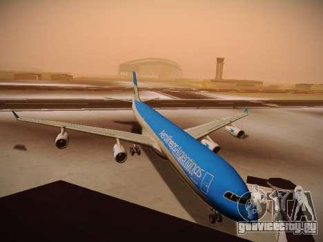 Airbus A340-300 Aerolíneas Argentinas для GTA San Andreas