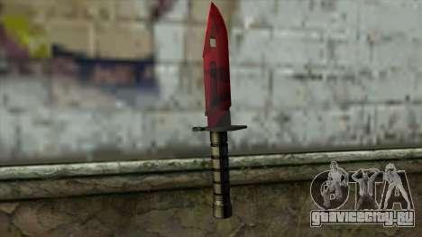 Bayonet M9 для GTA San Andreas второй скриншот