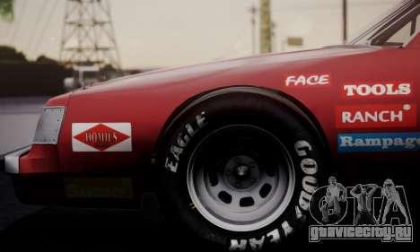 Buick Regal 1983 для GTA San Andreas вид сзади