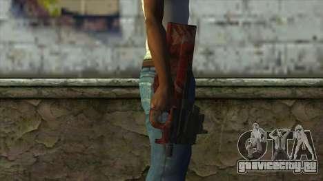 P90 from PointBlank v4 для GTA San Andreas третий скриншот