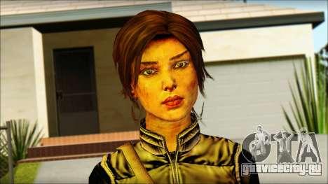 Tomb Raider Skin 1 2013 для GTA San Andreas третий скриншот