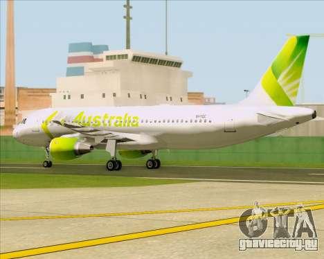 Airbus A320-200 Air Australia для GTA San Andreas вид изнутри