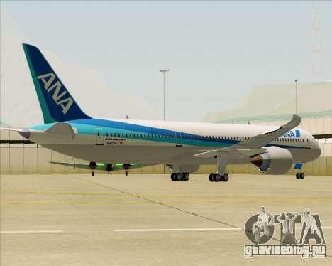 Boeing 787-9 All Nippon Airways для GTA San Andreas вид сзади