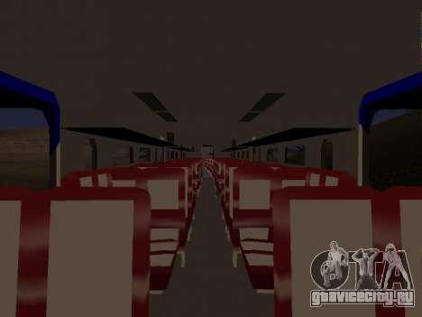 Индонезийский дизель-поезд MCW 302 для GTA San Andreas вид сзади слева