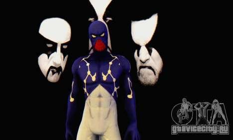 Skin The Amazing Spider Man 2 - Suit Cosmic для GTA San Andreas второй скриншот