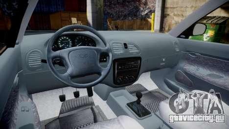 Daewoo Nubira I Sedan S PL 1997 для GTA 4 вид сзади