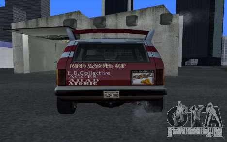 Обновленный Sandking для GTA San Andreas вид сзади слева