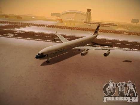 Airbus A340-300 Cathay Pacific для GTA San Andreas вид снизу
