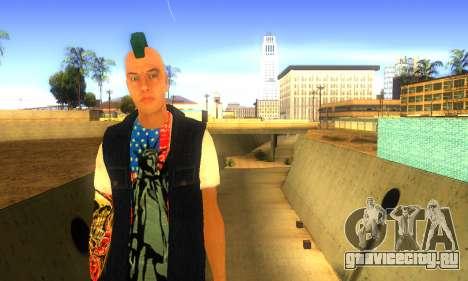 Панк v2 для GTA San Andreas второй скриншот