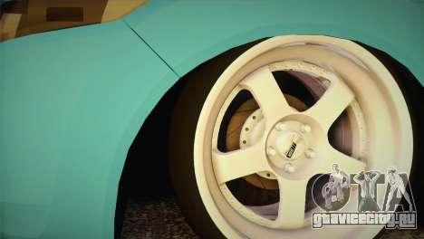 Honda Accord 2010 Hellaflush для GTA San Andreas вид сзади слева